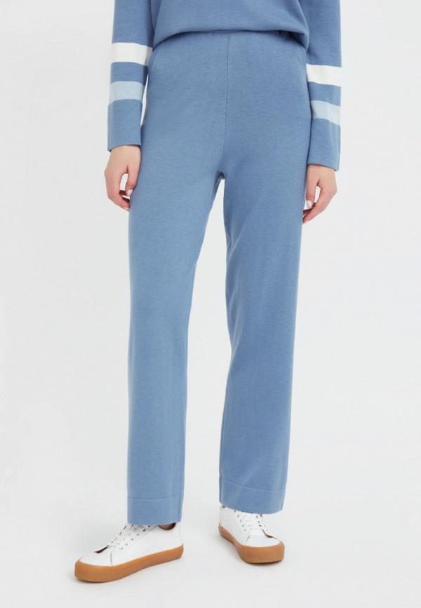 женские спортивные брюки finn flare, голубые