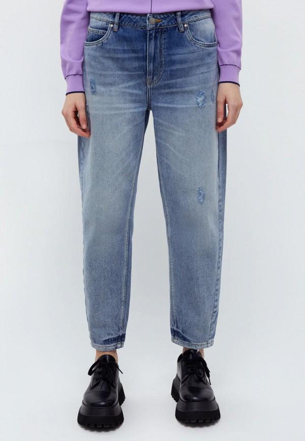 женские прямые джинсы finn flare, синие
