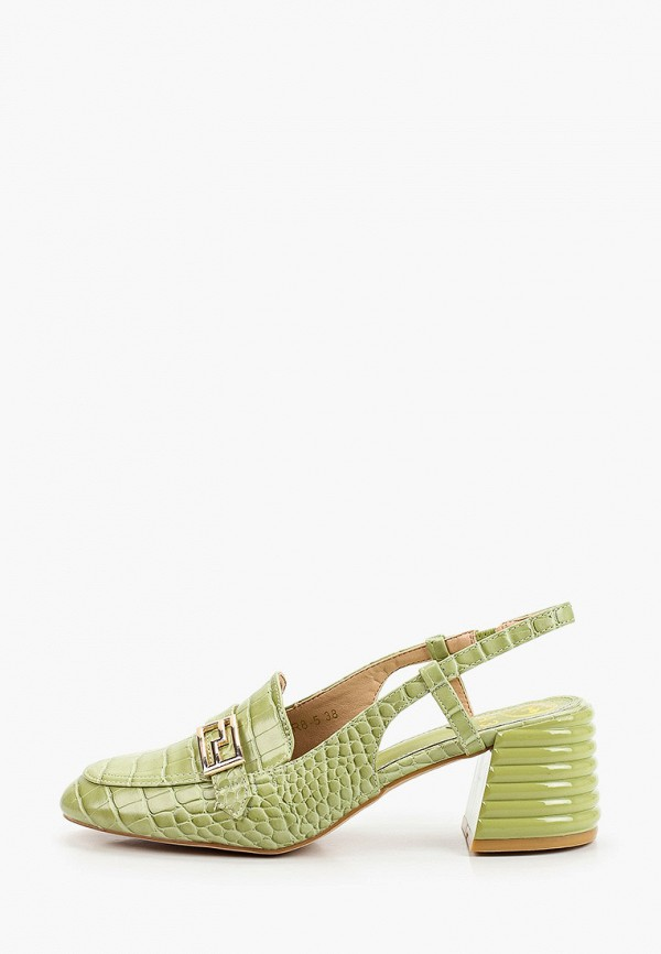 женские туфли араз, зеленые