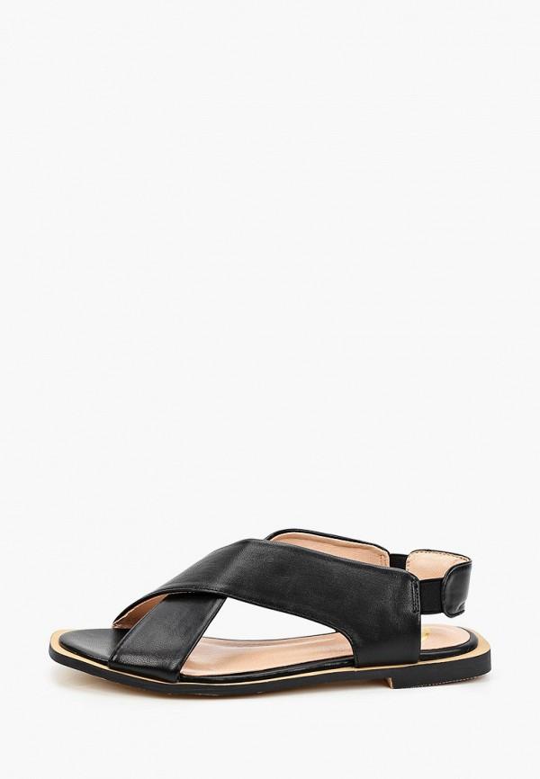 женские сандалии араз, черные