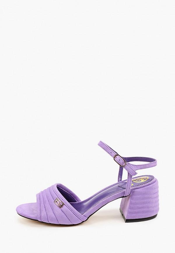 женские босоножки араз, фиолетовые
