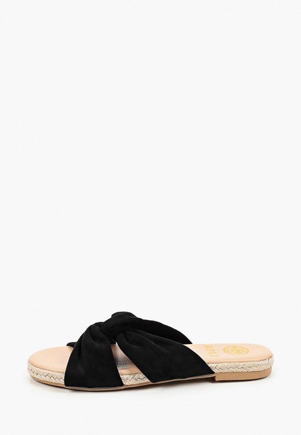 женское сабо араз, черное