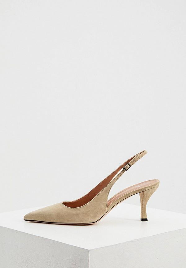 женские туфли boss, бежевые