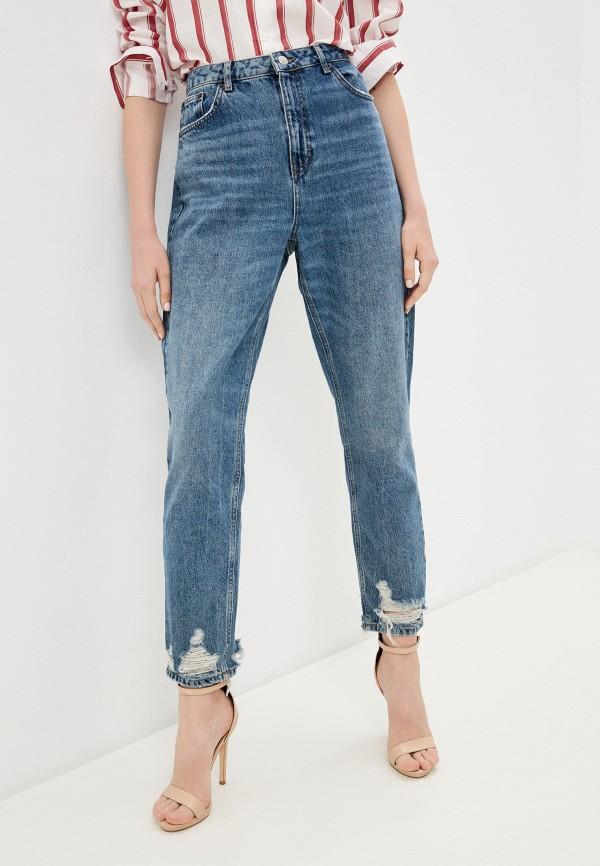 женские джинсы бойфренд topshop, черные