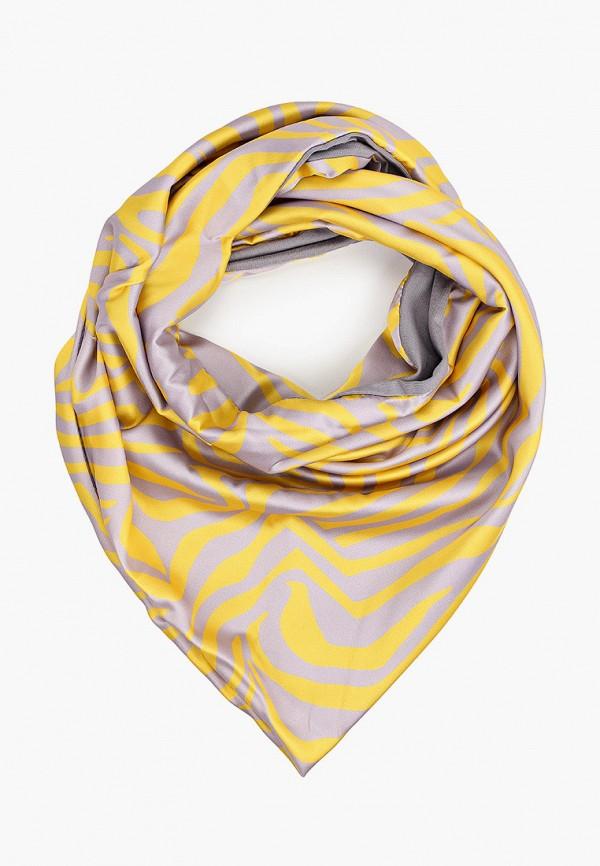 женский платок unu clothing, желтый