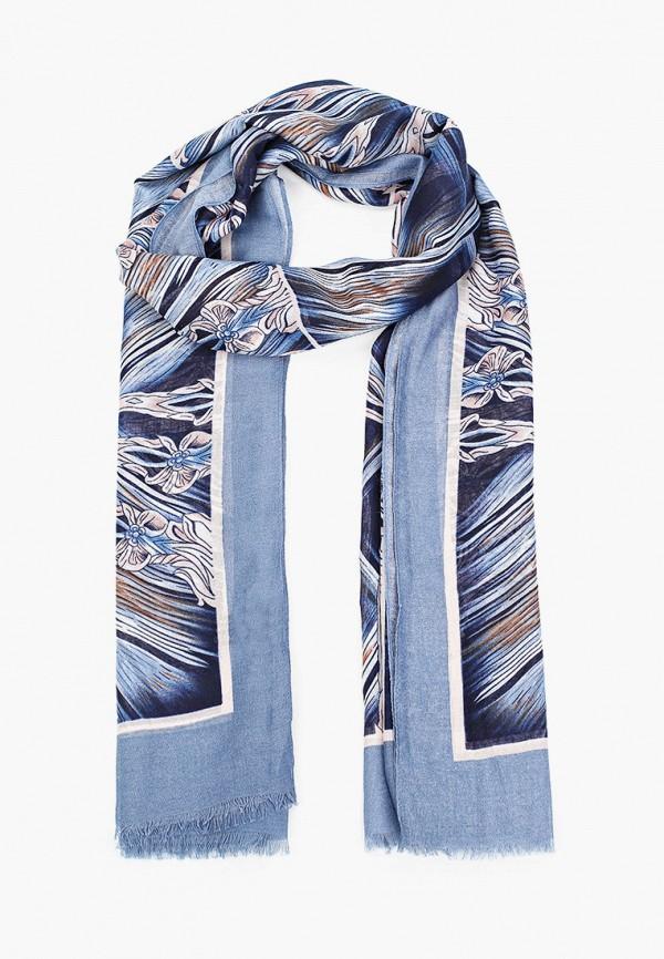 женский палантин sophie ramage, синий