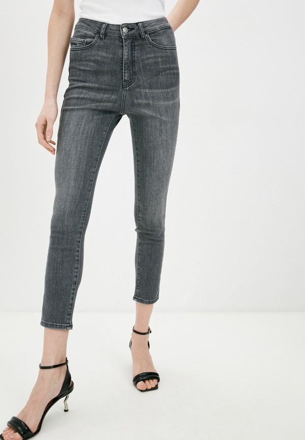 женские джинсы скинни boss, серые