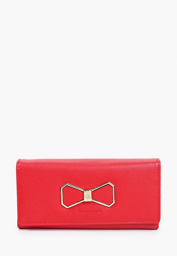 женский кошелёк mon mua, красный