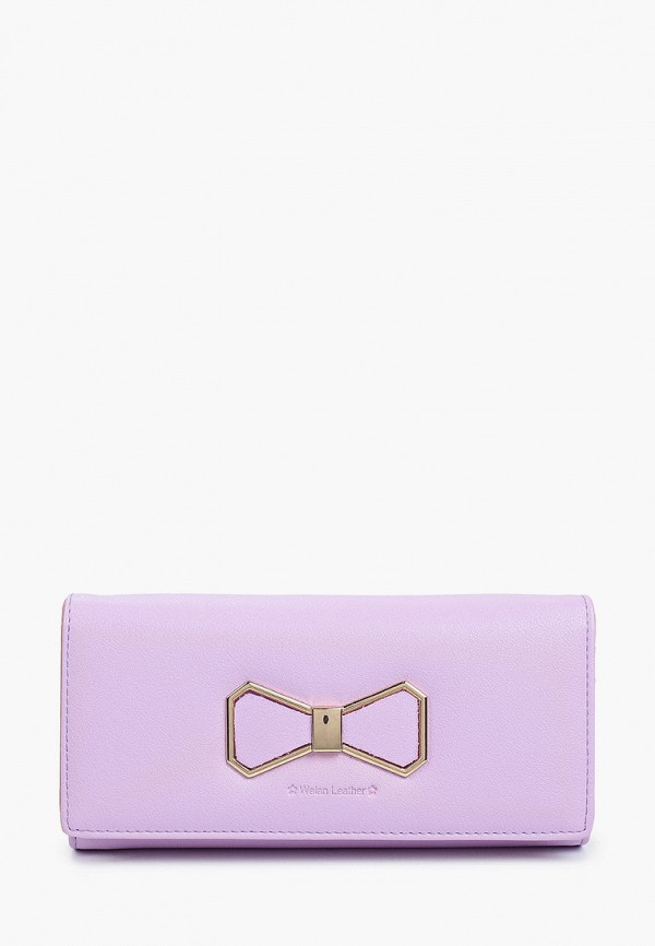 женский кошелёк mon mua, фиолетовый