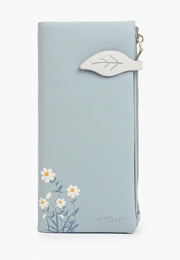 женский кошелёк mon mua, бирюзовый