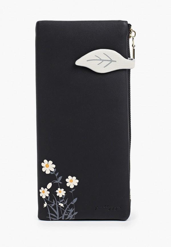 женский кошелёк mon mua, черный