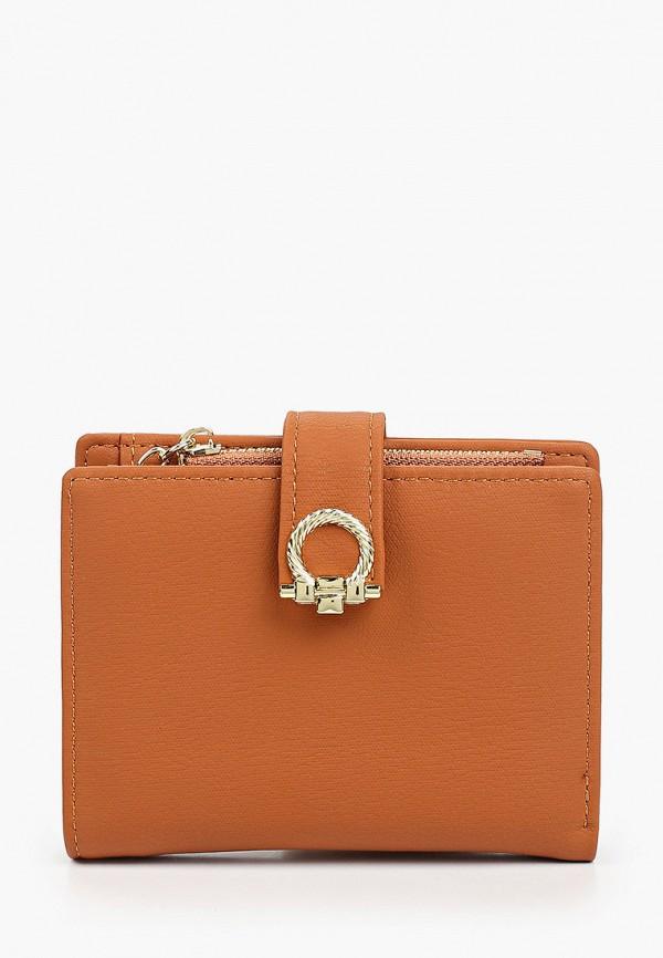женский кошелёк mon mua, коричневый