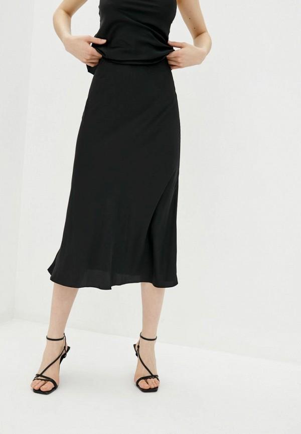 женская юбка miss secret, черная