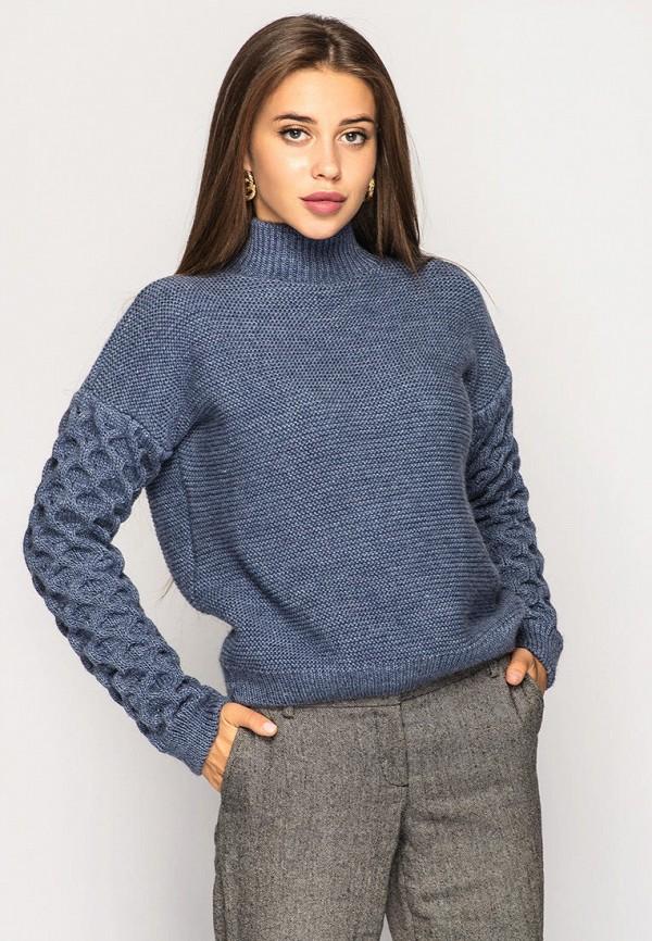 женский свитер larionoff, синий