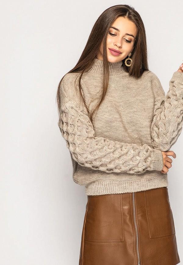женский свитер larionoff, бежевый