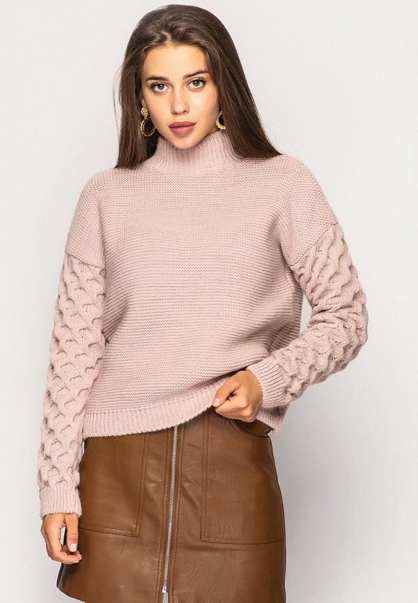 женский свитер larionoff, розовый