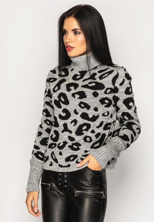 женский свитер larionoff, серый