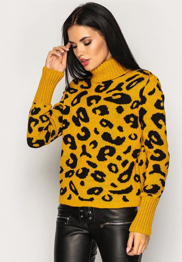 женский свитер larionoff, оранжевый