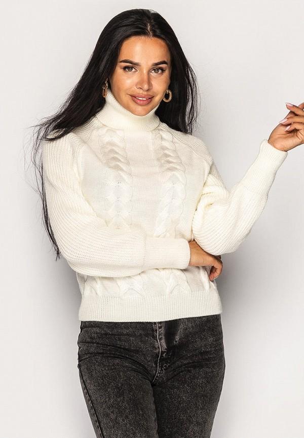 женский свитер larionoff, белый