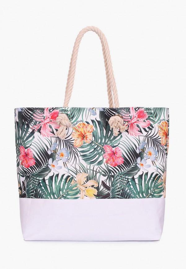 женская сумка poolparty, белая