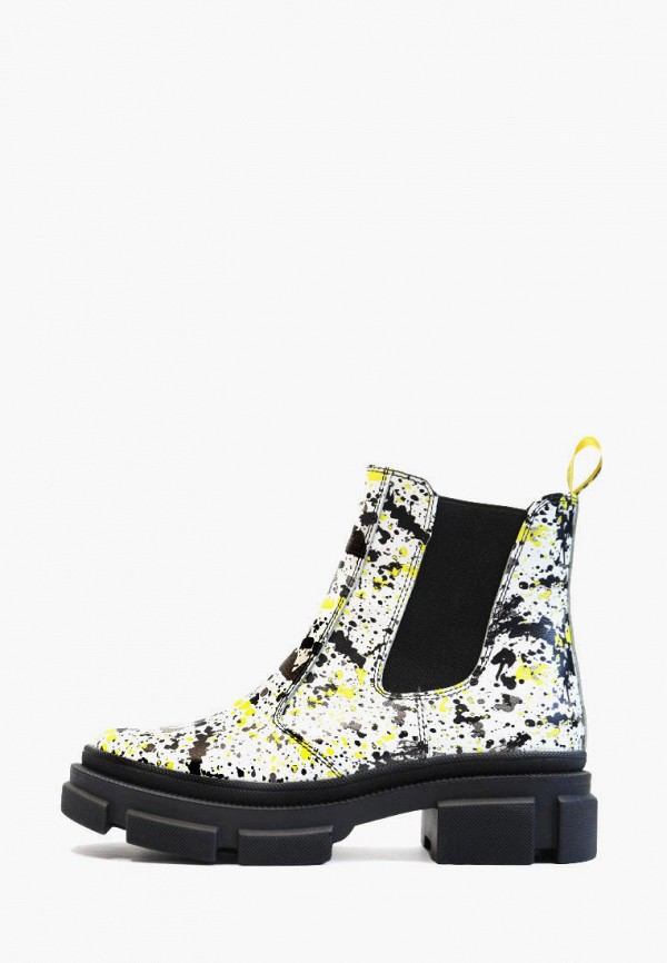 женские ботинки vm-villomi, белые