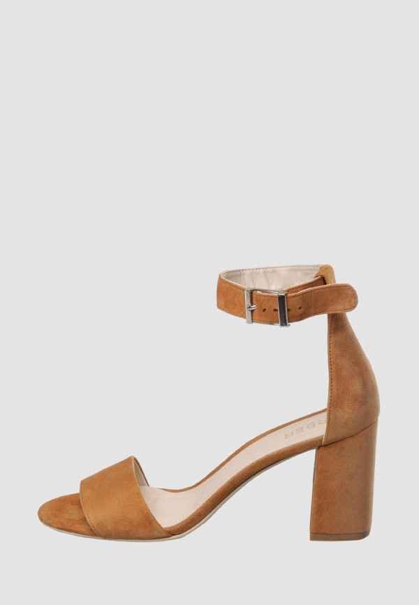 женские босоножки arber, коричневые