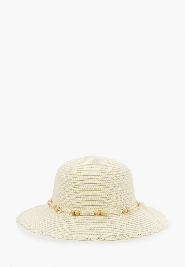 женская шляпа mon mua, бежевая