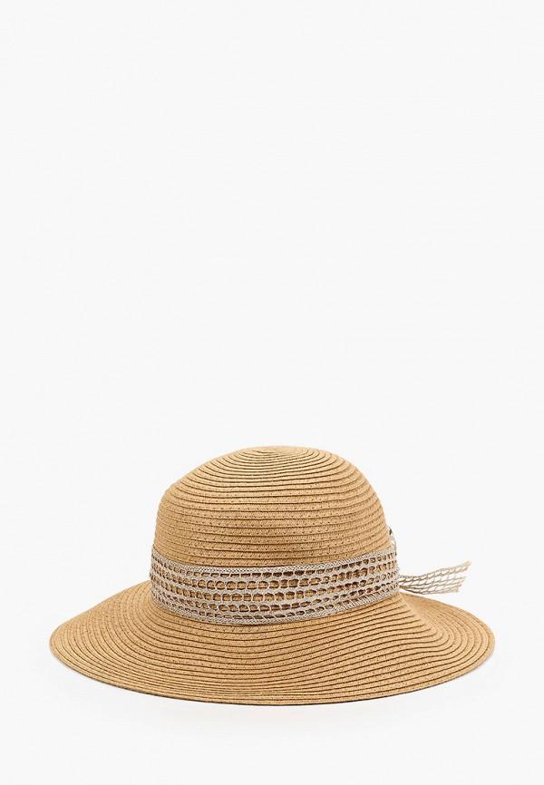женская шляпа mon mua, коричневая