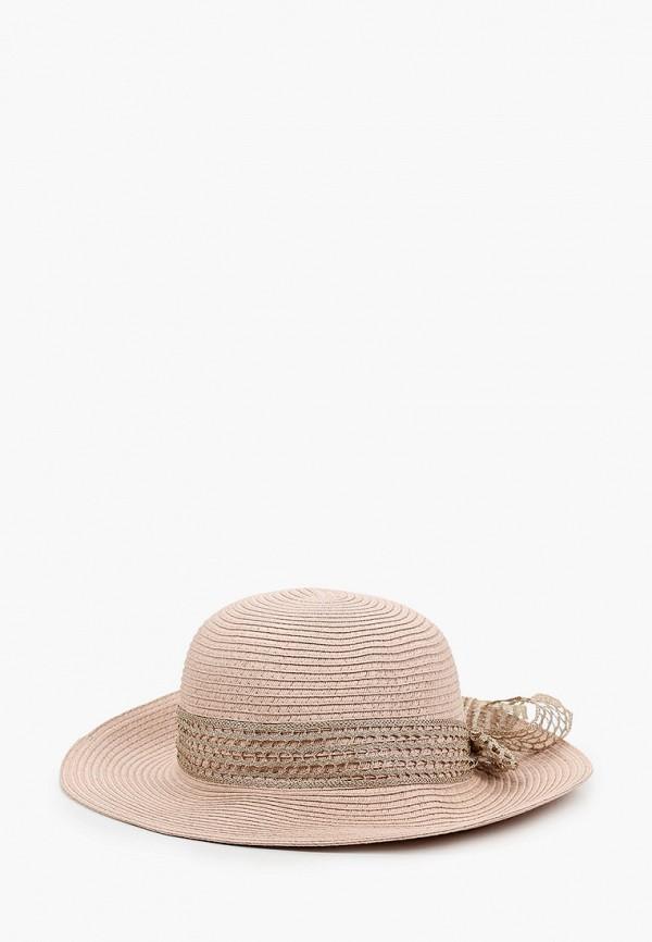 женская шляпа mon mua, розовая