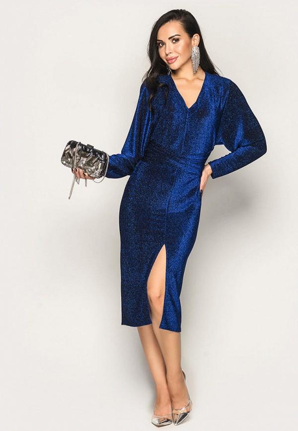 женское вечерние платье larionoff, синее