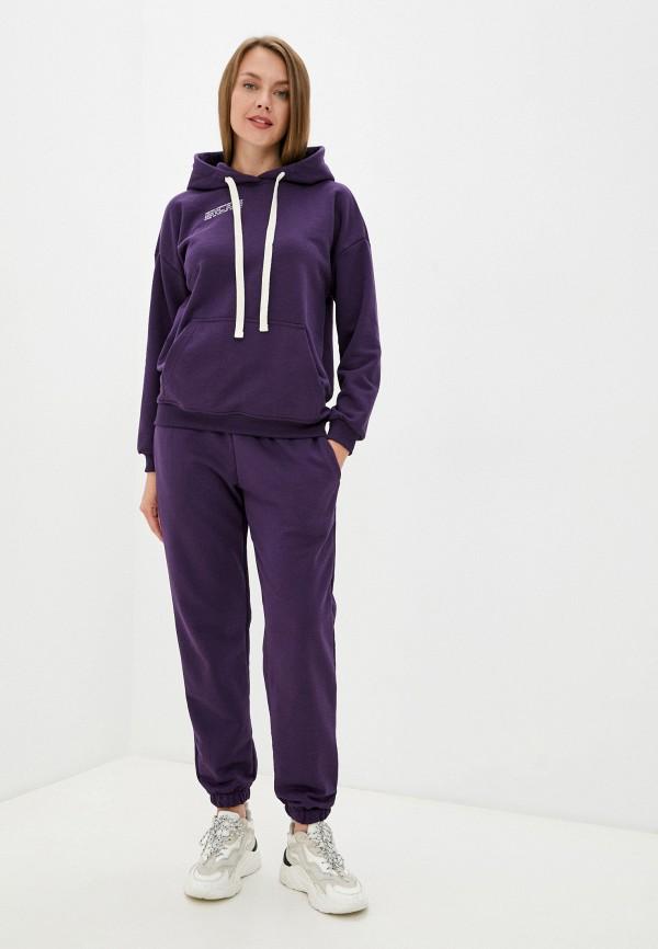 женский спортивный костюм d.s, фиолетовый