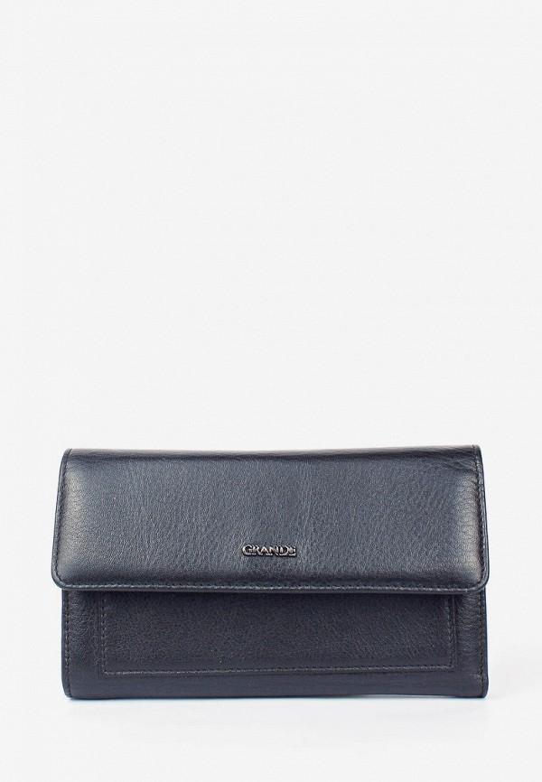 женский кошелёк grande, черный