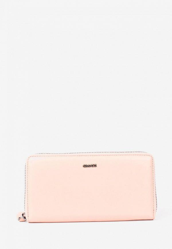 женский кошелёк grande, розовый