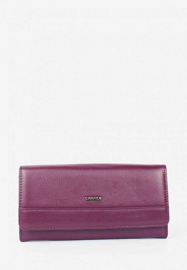 женский кошелёк grande, фиолетовый