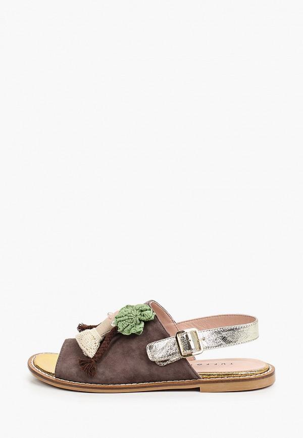 женские сандалии tuffoni, серые