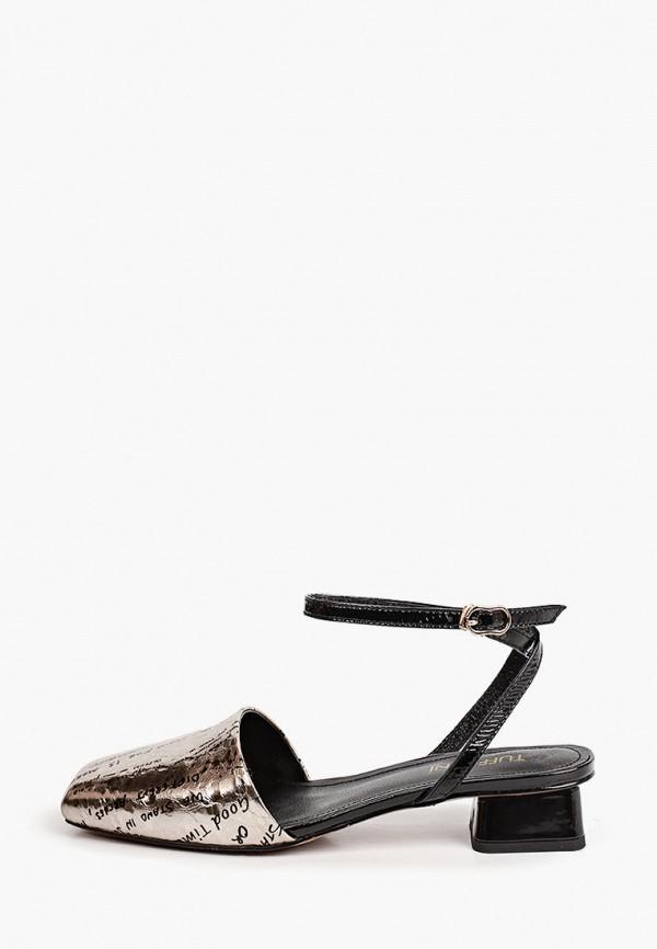 женские туфли tuffoni, серебряные