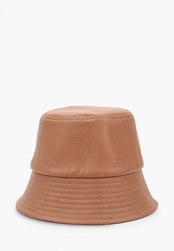 женская панама shovv, коричневая