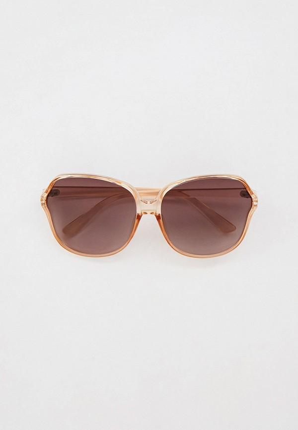 женские квадратные солнцезащитные очки mascotte, бежевые