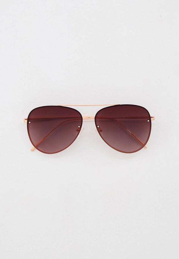 женские авиаторы солнцезащитные очки mascotte, золотые
