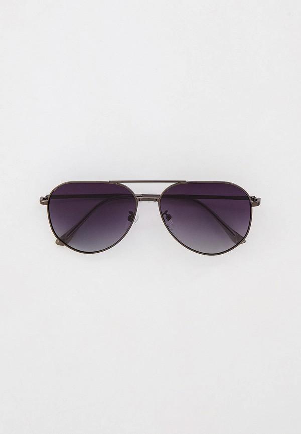 женские авиаторы солнцезащитные очки mascotte, черные