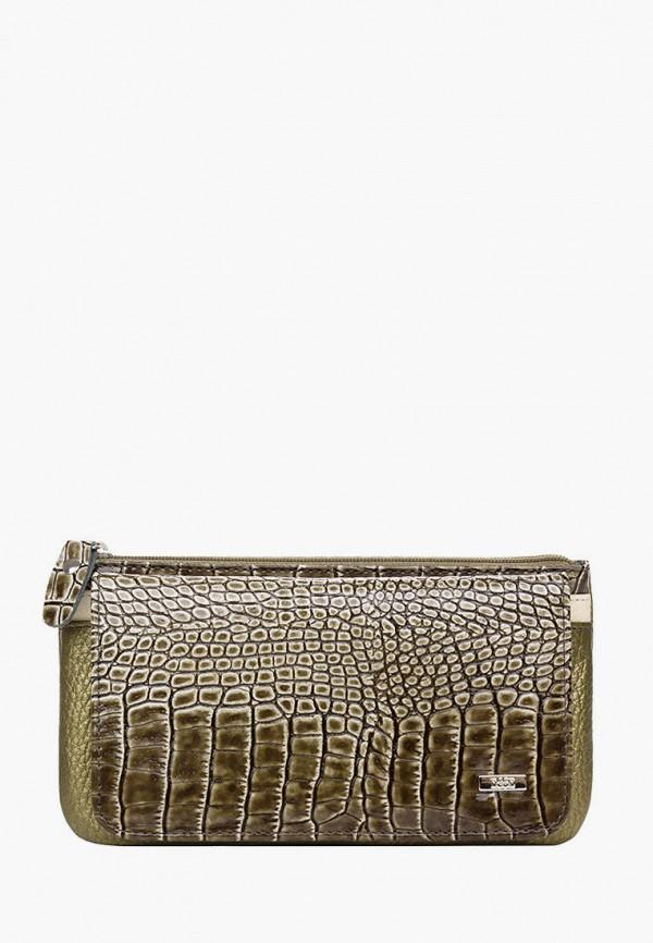женский кошелёк esse, зеленый