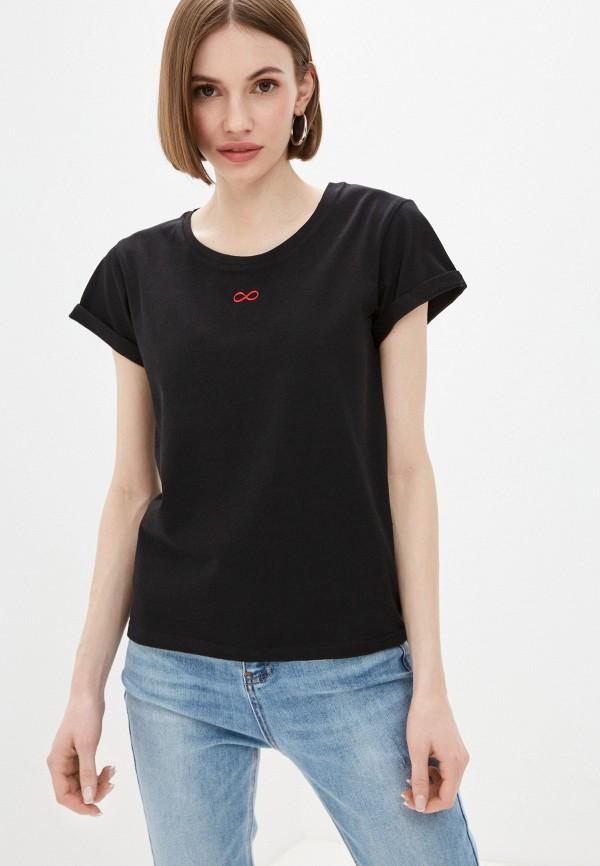 женская футболка alter me, черная