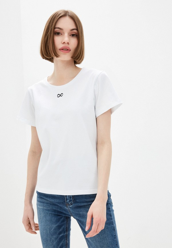 женская футболка alter me, белая