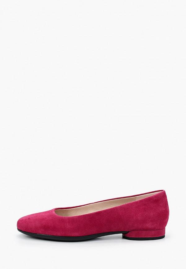 женские балетки ecco, розовые