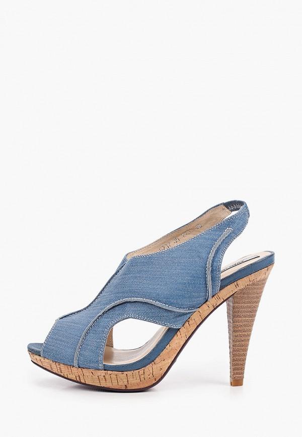 женские босоножки enzo logana, синие