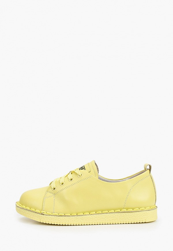 женские низкие ботинки ridlstep, желтые