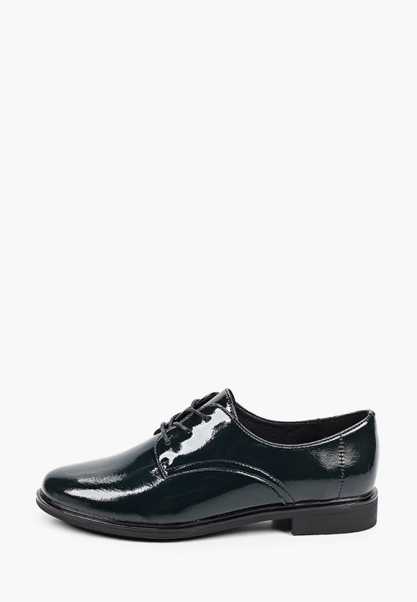 женские ботинки-оксфорды ridlstep, зеленые