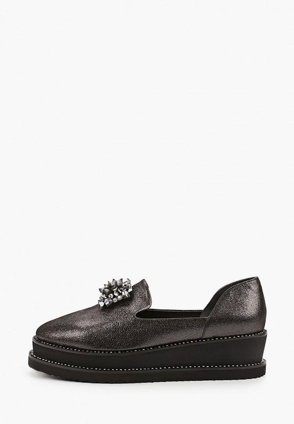 женские туфли с закрытым носом ridlstep, черные