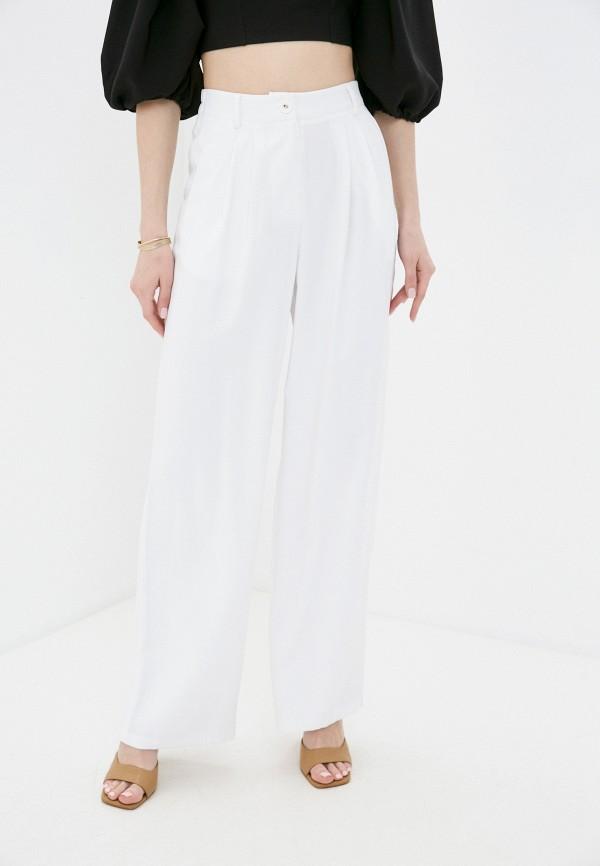 женские повседневные брюки love republic, белые
