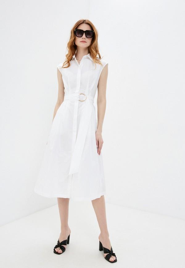 женское платье-рубашки love republic, белое